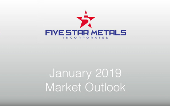 January 2019 Market Outlook